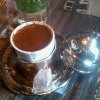 Turkish Coffee with Lokum