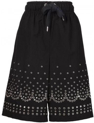 Alexander Wang eyelet embellished shorts