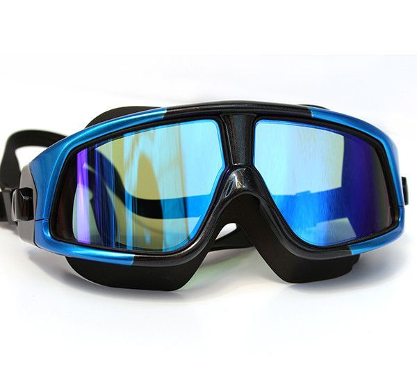 Mask - Goggles - Swimming - Snorkel - Scuba- Waterproof, Silicone Large Frame. Anti-Fog Men Women. http://www.deepbluediving.org/dive-computer-history/