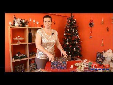(2) Karácsonyi ajándék csomagolás - YouTube
