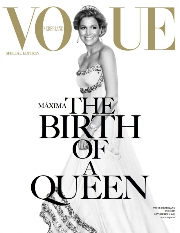 Maxima cover girl voor Vogue Nederland - http://www.fashionscene.nl/p/146777/maxima_cover_girl_voor_vogue_nederland