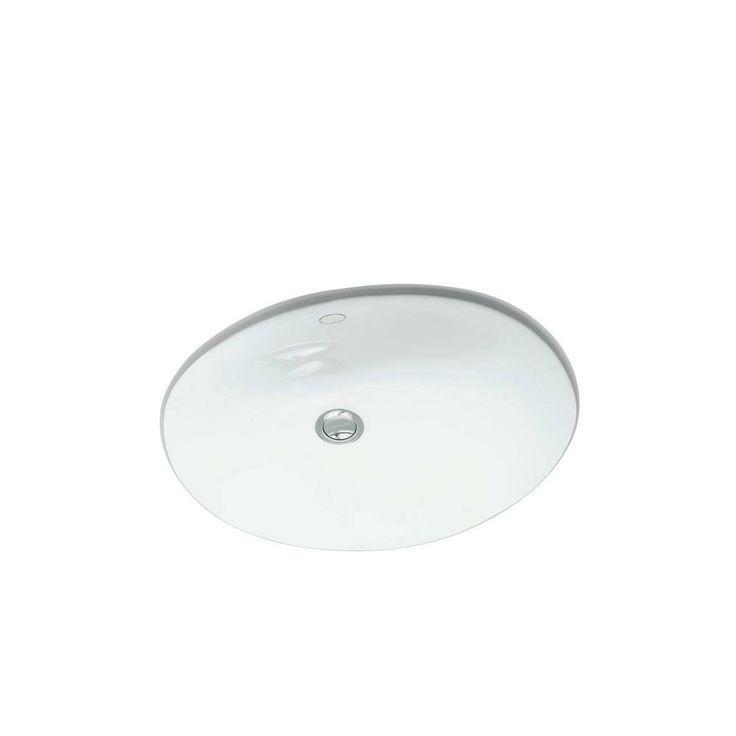 Lovely KOHLER Caxton Undermount Bathroom Sink In White K 2209 0 At The Home