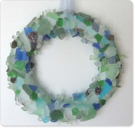 Displaying Sea Glass, Sea Glass Decor Beach Glass Decor Http://www.