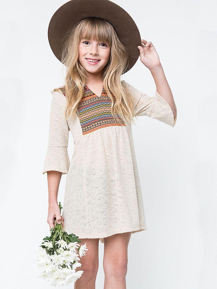Cute Tribal Tunic Dress