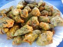 edible flowers! • çiçek dolması (stuffed courgetteflowers) #turkish recipe
