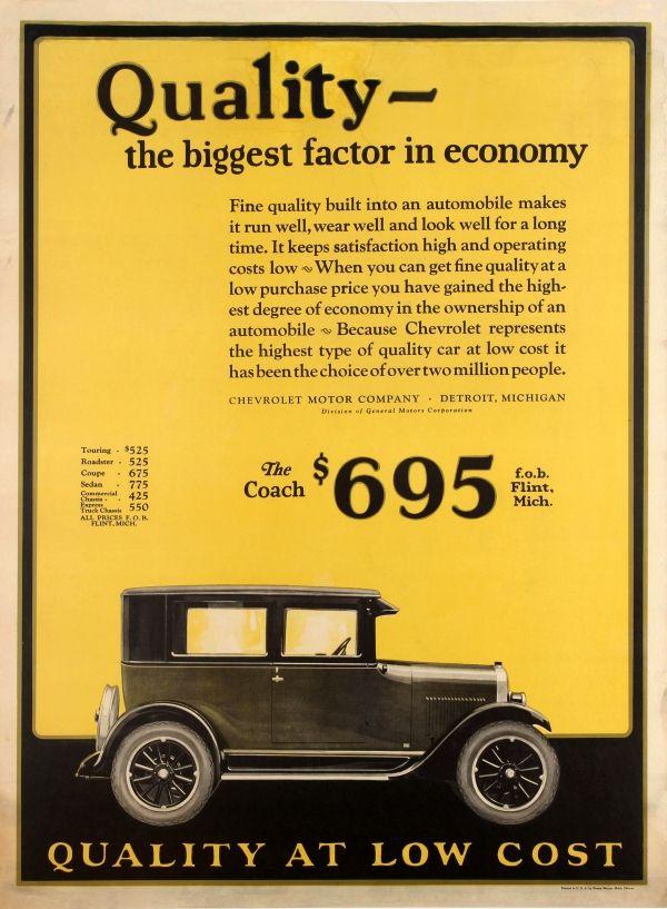 Car Advertisements 1920s
