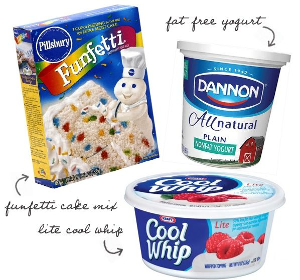 Eat Yourself Skinny!: Funfetti Dip, only 3 WW points! @Leia Randall