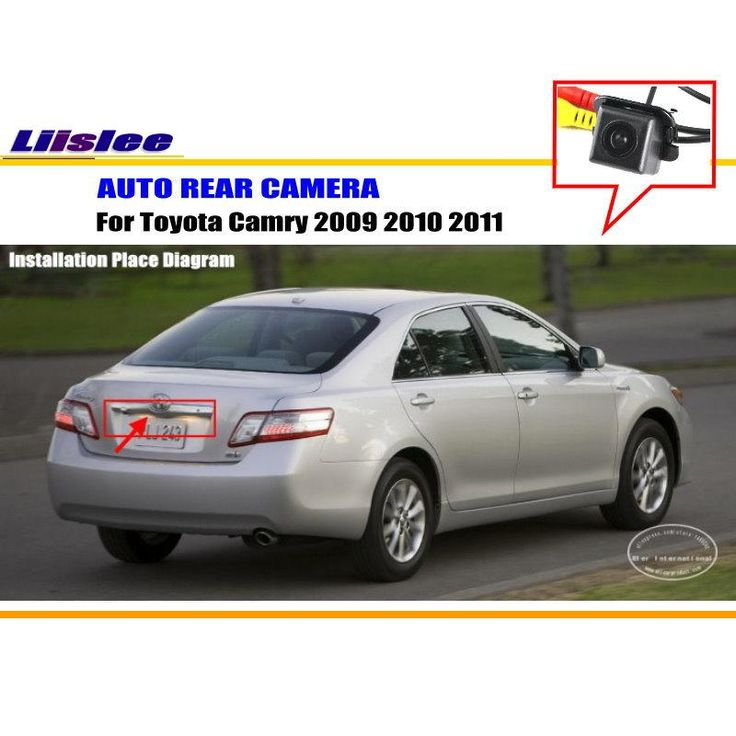 Car Rear View Camera Reverse Camera / For Toyota Camry 2009 2010 2011 / HD CCD RCA NTST PAL / Reverse Hole OEM #Affiliate