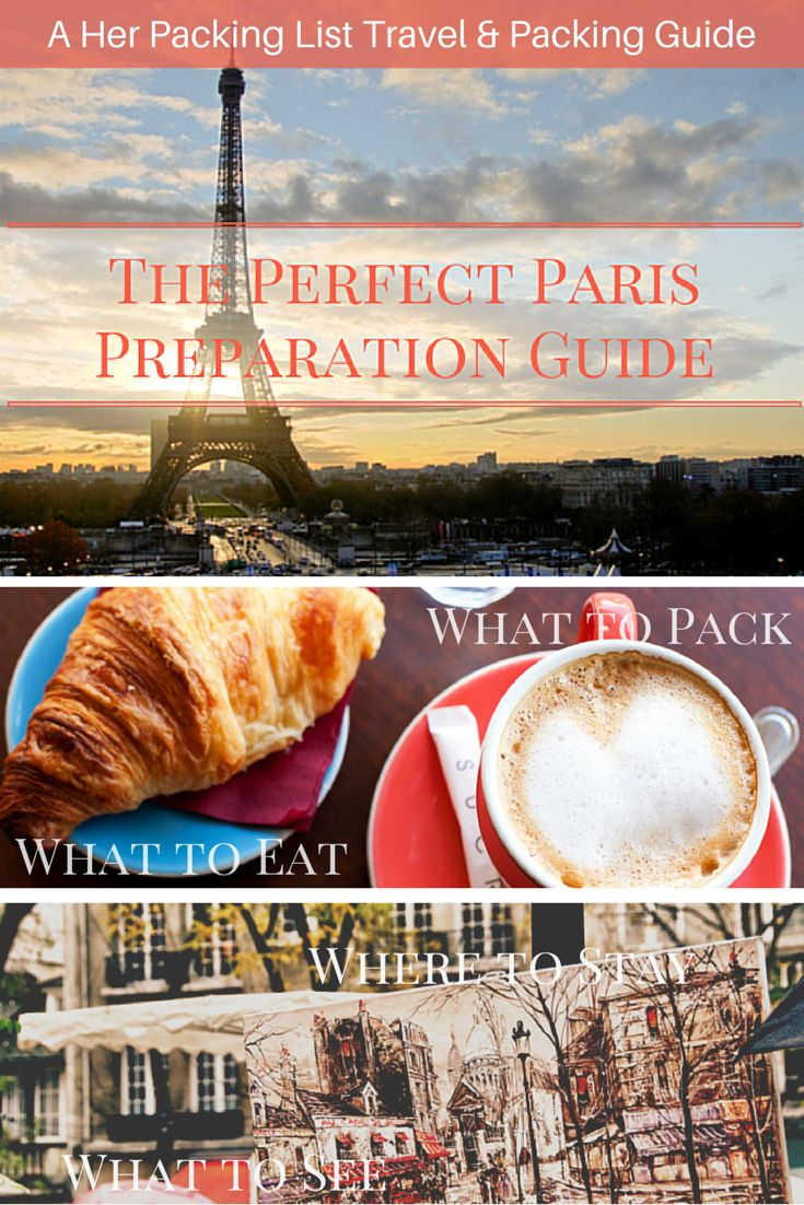 Before you go, this Paris prep guide will get you booked, packed, saving money and inspired! #herpackinglist