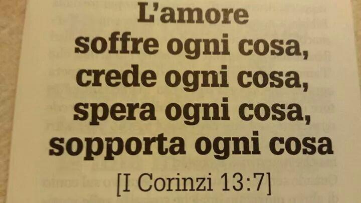 I Corinzi 13:7