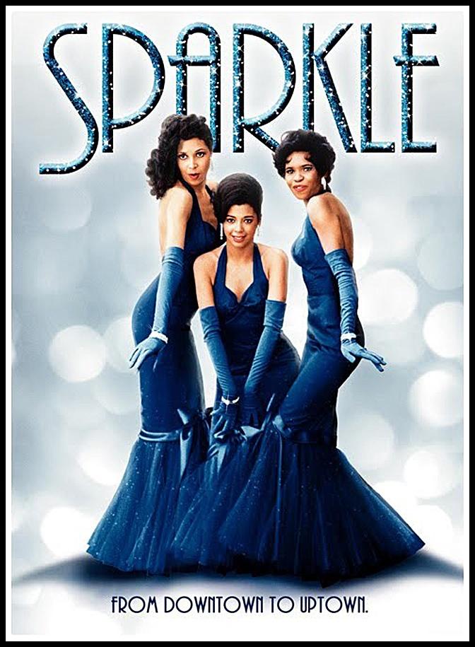 Sparkle (1976) — Lonette McKee, Irene Cara & Dwan Smith (DVD art)