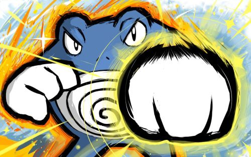 Poliwrath | Power-Up Punch by ishmam