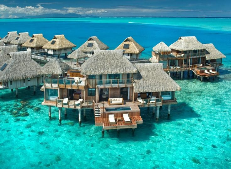 The Hilton, Bora Bora  WOW!  Just...WOW!