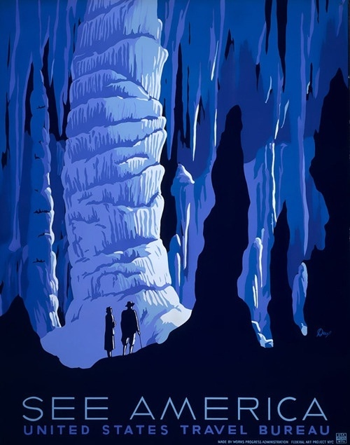 Want want want some of these old posters from travel bureau and national parks