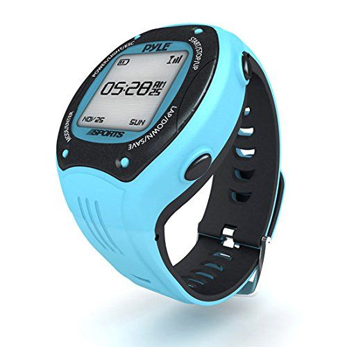Pyle Pro GPS Sports Watch Workout Trainer ANT+ Heart