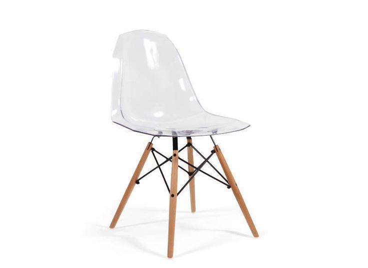 Chaise Design Polycarbonate Transparent