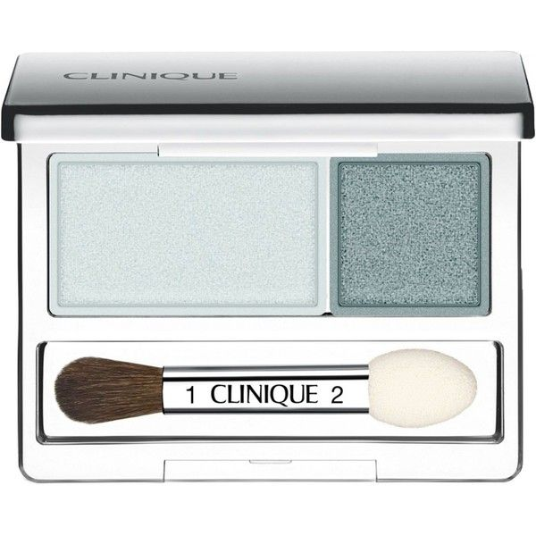 Clinique All About Shadow Duo 0.07 oz ($21) ❤ liked on Polyvore featuring beauty products, makeup, eye makeup, eyeshadow, fillers, beauty, eyes, wave after wave, clinique eye shadow and clinique eyeshadow