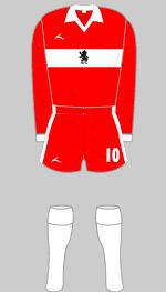 Middlesbrough - Historical Football Kits