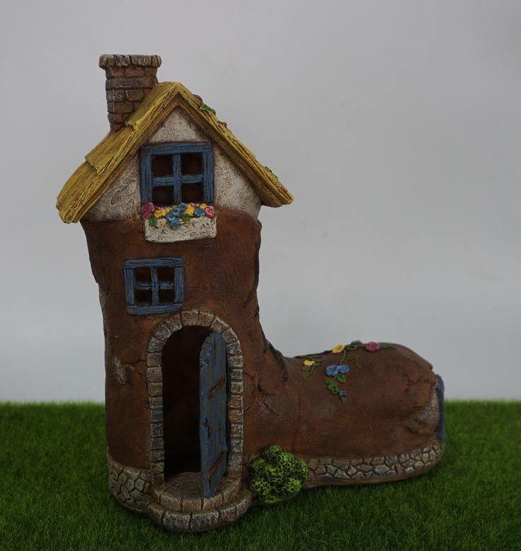 fairy boot house