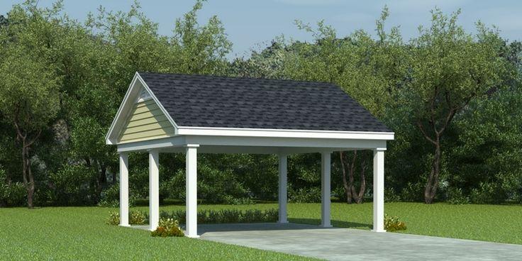 House Plan 053 02878 Traditional Plan 0 Square Feet In 2021 Carport Plans Building A Carport Diy Carport