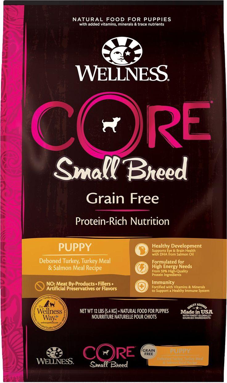 Wellness Core Grain Free Small Breed Puppy Deboned Turkey Recipe