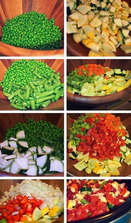 Windsor: Fab Fit Day: Crockpot Minestrone Soup