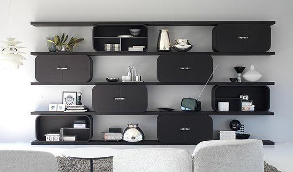 Composizioni soggiorno: Composizione Cocoon [a] da Ideal Form Team design: Paola Navone  / UK distribution by Milani Home London  #madeinitaly #design #interiordesign #inspiration