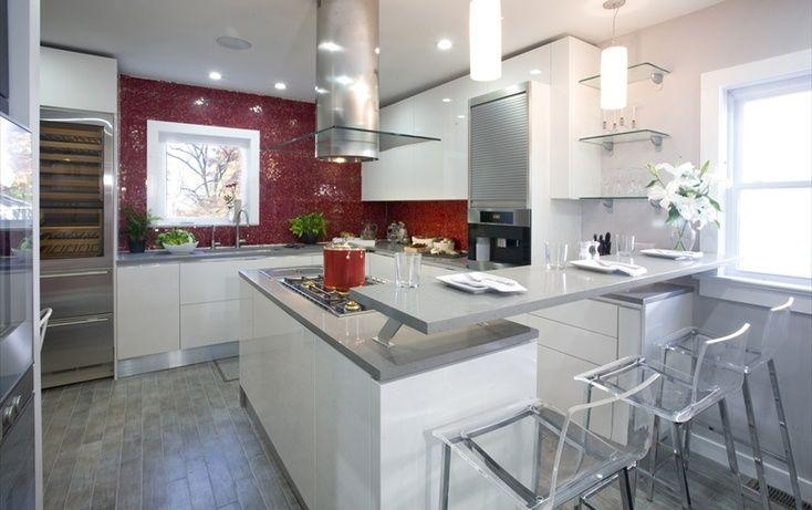 Une #cuisine design et lumineuse | A design and bright #kitchen
