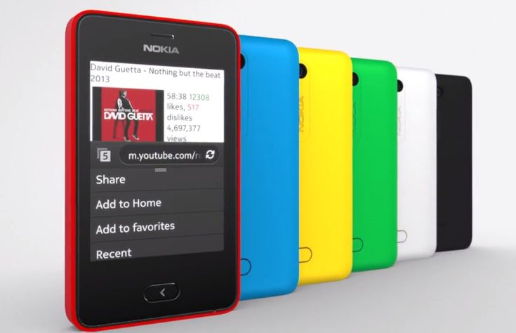 Nokia Asha 501 videos