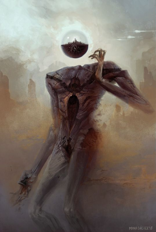 A surreal series of fantasy paintings based off the eleven aspects of the Kabbalah's Tree of Life