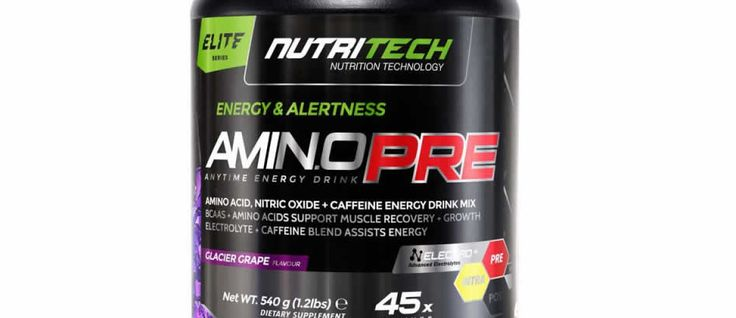 Looking for some pre-workout energy?? Check out our thoughts on NutriTech's AMINO PRE!