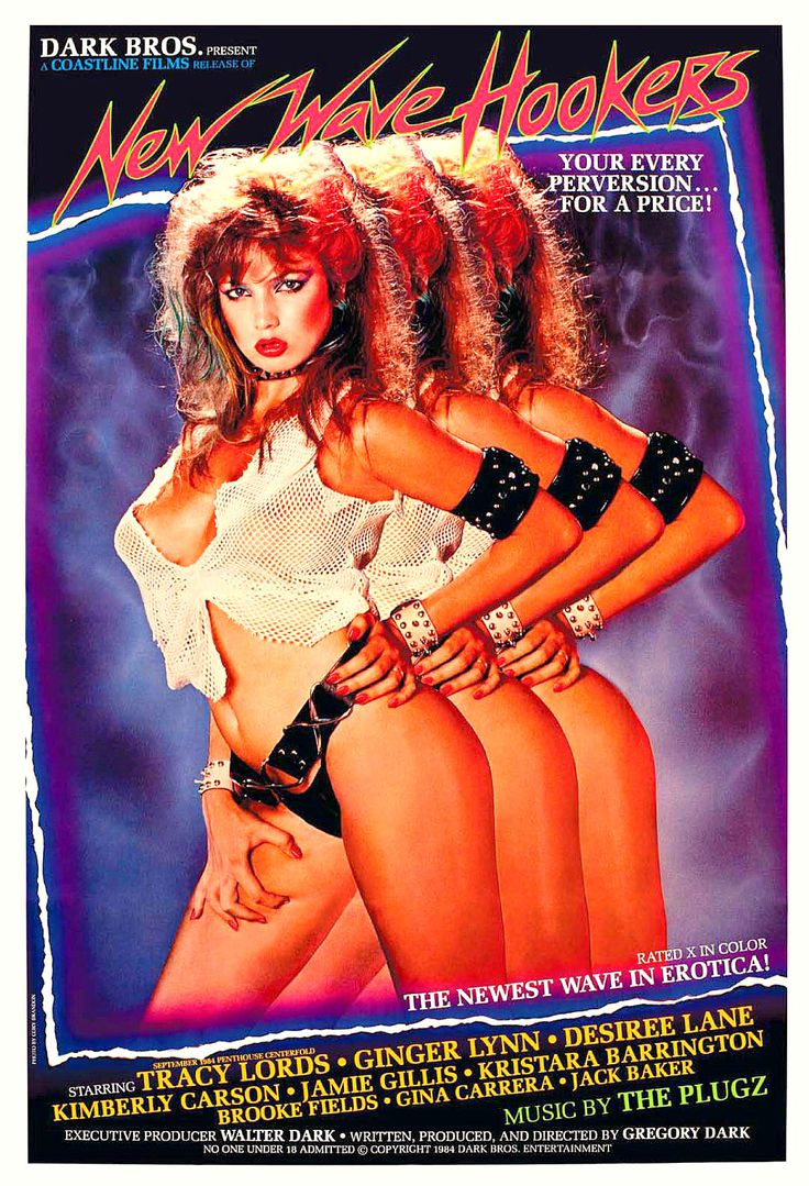 """""""New Wave Hookers"""": The Traci Lords Film That Changed X-Rated Movies Forever"""