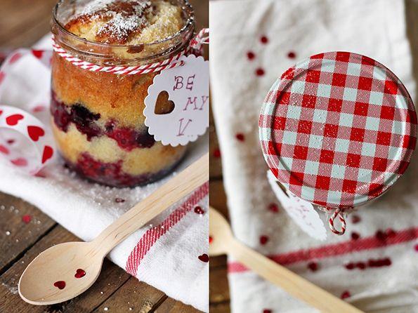 Rezept: Kuchen im Glas zum Valentinstag | Hallhuber – Style Blog