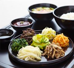 Basic description of Korean temple food and the performance of Baru Gongyang.