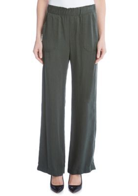 Karen Kane Women's Cargo Pocket Pants - Olive - Xl
