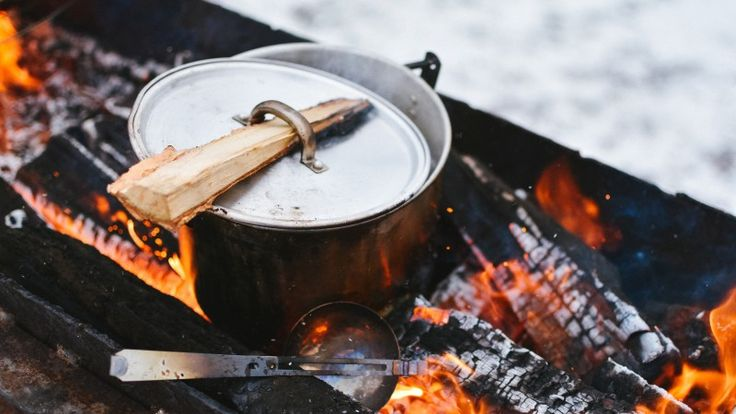 Take cue from these chefs to up your campfire cooking skills. #Camping #Grilling http://www.outsideonline.com/2091511/6-ways-chefs-elevate-their-camping-meals