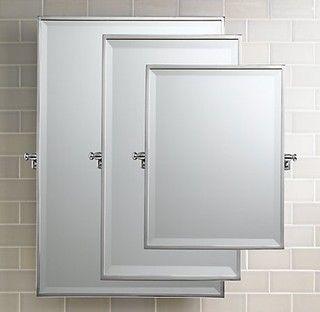 Bistro Rectangular Pivot Mirror