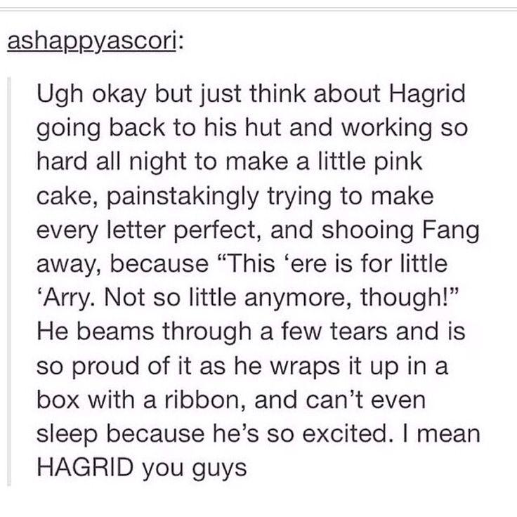 Awwwwww HAGRID