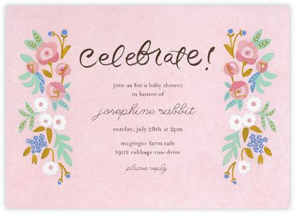 Baby Shower Invitations   Online And Paper   Paperless Post