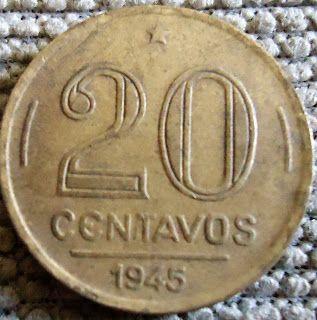 moedas antigas do Brasil