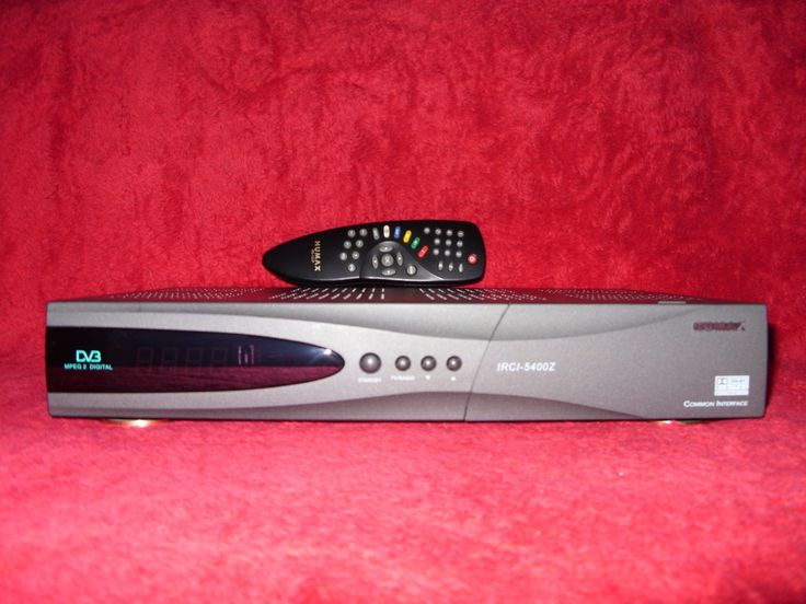 Humax Irci-5400Z Sat TV Receiver