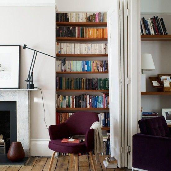 Boekenplanken houtkleur