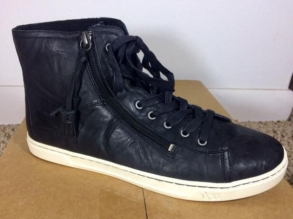 UGG High Top Leather Sneakers, Size 11M