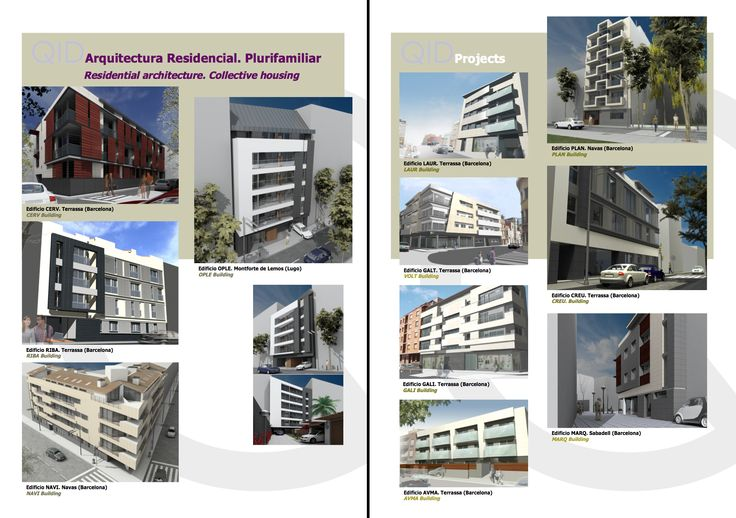 Arquit. Residencial. Plurifamiliar   Residential. Collective Housing