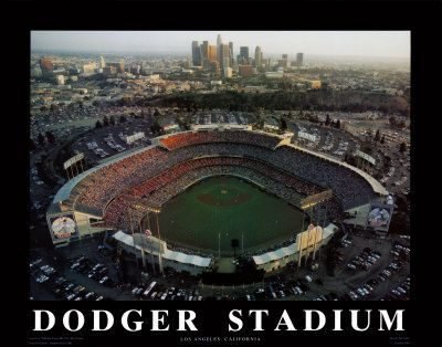 The happiest place on Earth: Dodgers Stadiums, Favorite Places, Posters Prints, California Prints, Dodgers Ballpark, California Posters, The Angel Dodgers, Dodgers Baseb, Dodgers Dodgerstadium