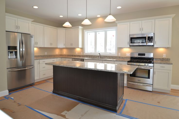 Another gorgeous kitchen by Persimmon Homes! (Lot 10) - love the way the fridge freezer is surrounded