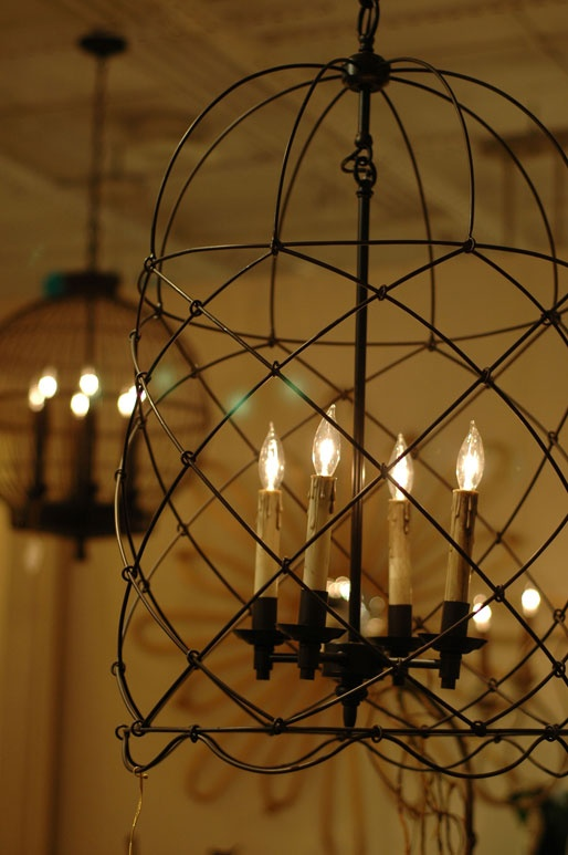 Lighting encased in birdcages at Highpoint NC. & 77 best Lighting - Home images on Pinterest | Home decor Lighting ... azcodes.com