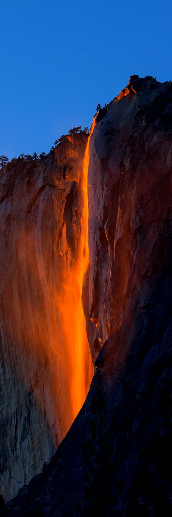 Fire Falls, Yosemite National Park