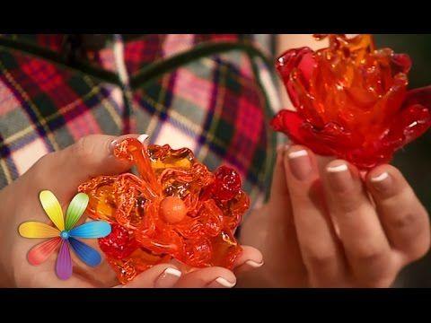 Делаем брошку-цветок из пластиковых ложек - Все буде добре - Выпуск 603 ...