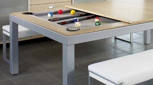 Fresh Pool and Dining Table